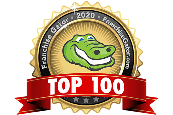 Franchise Gator top 100 award