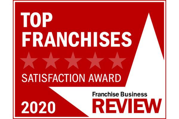top franchise satsifaction award